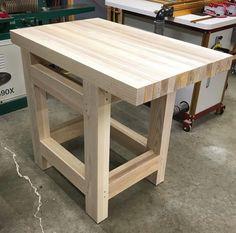 Streamlined Workbench In 2019 Garage Storage Woodworking