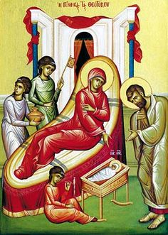 Sept - Feast of the Nativity of Our Most Holy Lady, the Theotokos and Ever-Virgin Mary — Greek Orthodox Archdiocese of America Nativity Of Mary, Divine Mercy, Day Book, Blessed Virgin Mary, Holi, Christianity, Greek, America, Saints