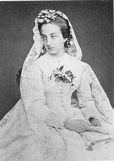 The Princess Marie Isabelle of Orléans and the Spains (1848-1919).