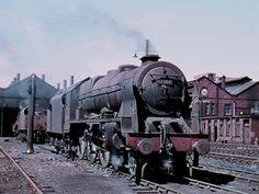 Steam Railway, Train Art, British Rail, Steam Engine, Steam Locomotive, Sheds, Diesel, The Past, Mountains