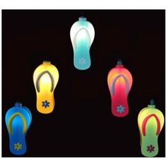 Colorful Sandals Indoor Outdoor 10 Light String Of Party Lights
