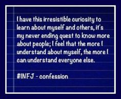 And so ~ all the INFJ pins . . .