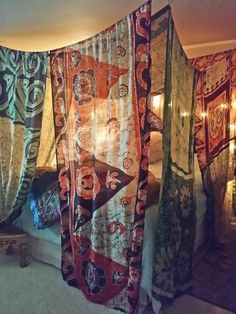 hippie bedroom decor 434456695302477017 - Boho Bed Canopy BALI HI Made To Order Gypsy Hippie Hippy Source by Hippy Bedroom, Bohemian Bedroom Design, Boho Room, Gypsy Room, Bohemian Style Rooms, Bohemian Decorating, Modern Bohemian, Decorating Ideas, Hippie Bedding