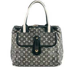 Louis Vuitton Monogram Mini Lin Sac Mary Kate Tote