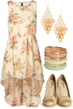 """Floral of the Story"" by qtpiekelso on Polyvore"