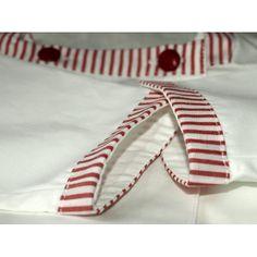 Aloÿs tunique encolure carrée rouge bébé cadeau de naissance
