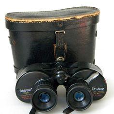 Vintage Binoculars Tasco Field Glasses #vintage_binoculars