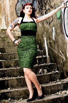 Horror punk style dresses
