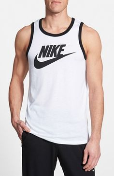 Nike 'Sportswear Ace' Tank Top available at #Nordstrom