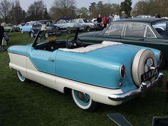 1957 Nash Metropolitan convertible. I believe Lois Lane drove one of these.