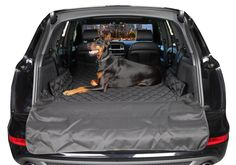 4Knines SUV Cargo Liner keeps your vehicle clean without hours of vacuuming.