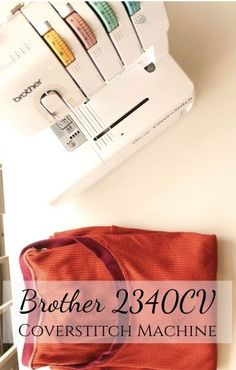 A review of the Brother 2340CV cover stitch machine, the most inexpensive option on the market. Sewing Rooms, Sewing Spaces, Sewing Courses, Sewing Machine Reviews, Brother Embroidery, Vintage Sewing Machines, Tatting Patterns, Crochet Patterns For Beginners, Sewing Notions