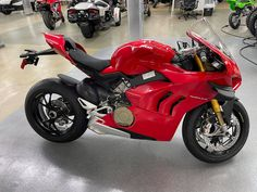 Year after year, the Panigale V4 is renewed to become faster and more exciting on the track for both the amateur and the professional rider. #Ducati #StreetBikes #PanigaleV4S #DucatiTractionControl Ducati Motorcycles, Street Bikes, Track, Runway, Truck, Running, Road Bike, Track And Field