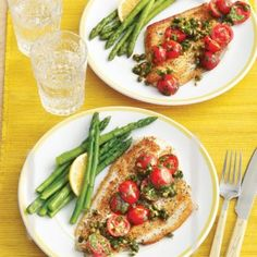 0414 Sautéed Fish Fillets with Tomatoes and Capers | 30-Minute Meals | AllYou.com Mobile