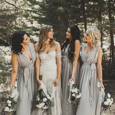 Bridesmaid dresses. Select a best suited bridesmaid dress for the wedding. You need to look at the dresses which would certainly flatter your bridesmaids, simultaneously, match your wedding theme.