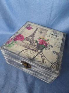 krabička z Paríža | Artmama - ručné práce a tvorivé nápady