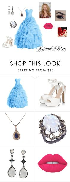 """""""Untitled #8"""" by frostwolf1864 ❤ liked on Polyvore featuring Arya Esha, Stephen Dweck and Lime Crime"""