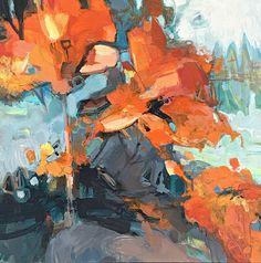 Where are all the Flowers?, acrylic flower painting by Becky Holuk | Effusion Art Gallery + Glass Studio, Invermere BC Tulip Painting, Lake Painting, Acrylic Painting Flowers, Garden Painting, Flower Paintings, Abstract Flowers, Landscape Paintings, Canadian Art, Mountain Paintings