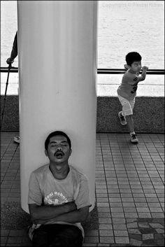 #pascalriben - Hong Kong, China - MANY FACES FROM FAR EAST bw photo gallery by Pascal RIBEN on www.pascalriben.com - #BwLovedByPascalRiben