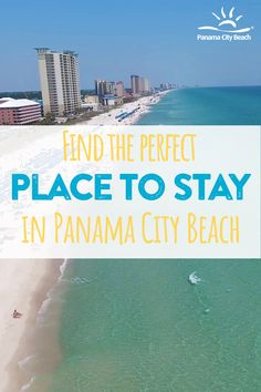 Browse through the variety of places to stay in PCB Best Places To Travel, Vacation Places, Vacation Trips, Vacation Spots, Panama City Beach Hotels, Panama City Panama, Beautiful Places To Visit, Cool Places To Visit, Places To Go