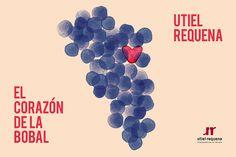 Campaña Bobal - D.O. Utiel-Requena by Vibra Agency, via Behance