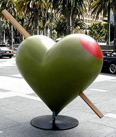 San Francisco......nice olive for a martini!