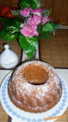 VYNIKAJÍCÍ CELOZRNNÁ JABLEČNÁ BÁBOVKA Doughnut, Pudding, Desserts, Food, Deserts, Custard Pudding, Puddings, Dessert, Meals