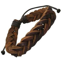 Shop for Genuine Leather Brown 'Unity Knot' Bracelet. Get free delivery On EVERYTHING* Overstock - Your Online Jewelry Shop! Get in rewards with Club O! Homemade Bracelets, Diy Bracelets Easy, Bracelets For Men, Bangle Bracelets, Leather Bracelets, Stitching Leather, Leather Cuffs, Titanium Jewelry, Bracelet Knots