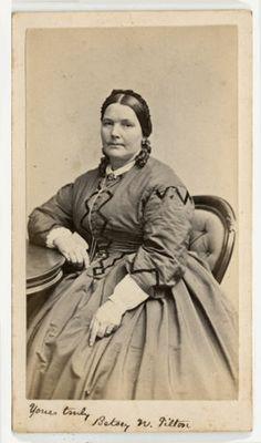 1860s CDV Portrait ID'D Betsy N Tilton by N C Sanborn Lowell Massachusetts   eBay