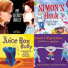 Books about bullying.  Love these books!  Great response during classroom meetings.