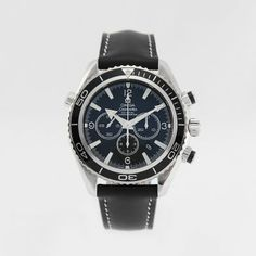 Omega, Seamaster Planet Ocean Chronograph, photographed by Pamela Ossola, offered by Georg Königbauer - Watches For Life