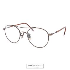 NEW RELEASE: The Stancey Ramars | K67 in Matte Copper (C1). The K67 features a round double bridge front with detailed metal filagree, acetate temple sleeves, and titanium nose pads. Fake Glasses, Eyeglasses Frames For Women, Prescription Lenses, Eyewear, Temple, Copper, Nice, Metal, Sleeves