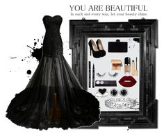 """Prom idea"" by harmzilly on Polyvore featuring Kevin Jewelers, Effy Jewelry, Lime Crime, Yves Saint Laurent, Marc Jacobs and Bobbi Brown Cosmetics"