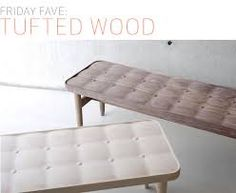 Image result for tufted benches