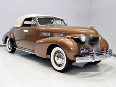 1938 Cadillac Series 62 Coupe Deville