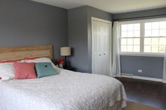 Benjamin Moore - Mineral Alloy I'm loving this color