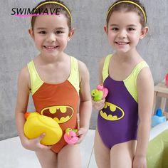 ff73e4752e Aliexpress.com : Buy Hot Sale Summer Bat Printed Cute Swimsuit One Piece  Children Kids Girl Swim Dress Swimming Beach Travel Bathing Suit Swimwear  from ...
