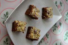 Rhabaeber-Crumble-Brownies