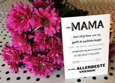 kaartje MAMA www.jolismots.be Instagram @jolis_mots_ontwerp
