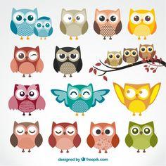 2017 Kawaii Zoo Owl Schoolbags for Kids Small Children Animal School Bag Girls Cute Baby Kindergarten Bag Mochila infantil Owl Clip Art, Owl Art, Owl Illustration, Illustrations, Cute Owl Cartoon, Cartoon Owl Drawing, Owl Drawings, Owl Vector, Clip Art Pictures