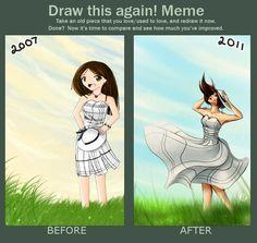 Blank Touch Meme Touchmeme Ann Random Cause I M Bored Art