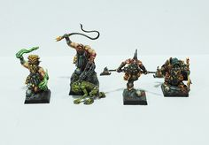 It's time to feature another competitor in the Cleric, Fighter, Wizard, Rogue Miniature Painting Tourney. Today's Ensemble Shot is submitted by Lost Kingdom Miniatures, our second entry from Spain! You can find them here: http://lostkingdomminiatures.com/en/ Make sure you vote during AetherCon all weekend long to have your say on who is the best. The more you vote, the more chances you have to win!