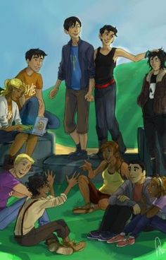#wattpad #general-fiction Percy, Annabeth, and the Heroes of Olympus gang are reaped into the Hunger Games.