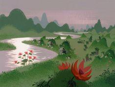 Samurai Jack background designs   Signalnoise.com via PinCG.com