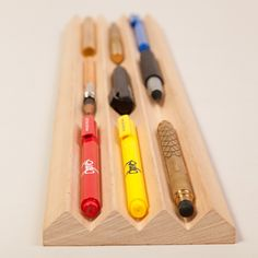 Toblerono Table Organizer Wood design inspiration on Fab.