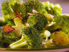 Sauteed Broccoli and Almonds