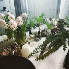 Bathroom counter scentscape