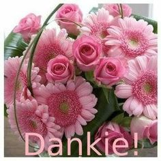 A Bouquet Of Flowers photo Baie Dankie, Birthday Prayer, Beautiful Flowers Wallpapers, Different Shades Of Pink, Flowers Nature, Flower Boxes, Pretty In Pink, Pink And Green, Planting Flowers