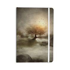 "Viviana Gonzalez ""Lone Tree Love IV"" Brown Nature Everything Notebook"