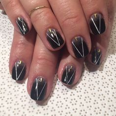"""@ohriginails #Gina #handpainted #gelnail #nailart #Vanityprojects"""